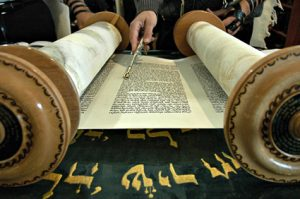 Torah lue à la synagogue