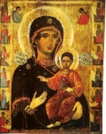 Vierge à l'enfant Monastère de Varadec XVIième siècle