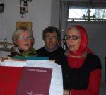 quielques chantres du Choeur de Louveciennes