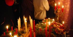 Bénédictions des couronnes de l'Avent 6 bougies
