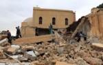 Eglise copte incendiée en Lybie