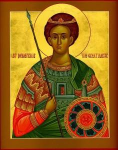 Saint demetrios de Théssalonique