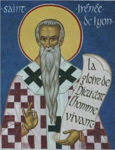St Irénée de Lyon