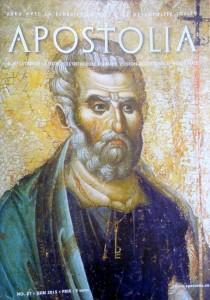 Apostolia  87 juin 2015