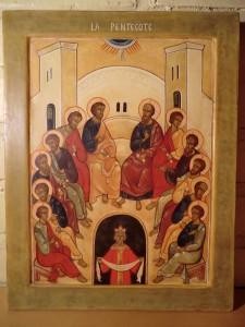 Icône de la Pentecôte Louveciennes