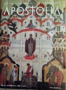 Apostolia n 90 - octobre 2015