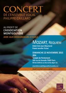 Concert P Caillard Asso Montgolfière 22 nov 15