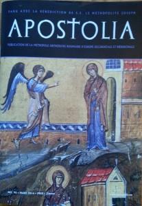 Apostolia n 96 - mars 2016
