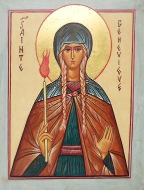 prière à Sainte Geneviève Patronne de Paris Sainte-Genevieve
